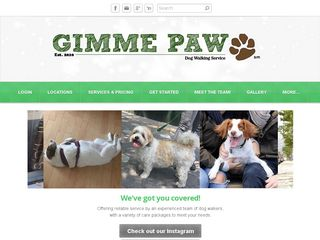 GIMME PAW Dog Walking | Boarding