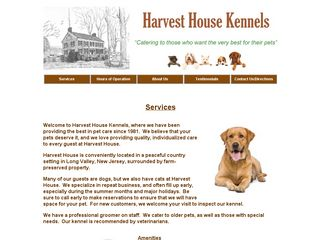 Harvest House Pet Care Long Valley