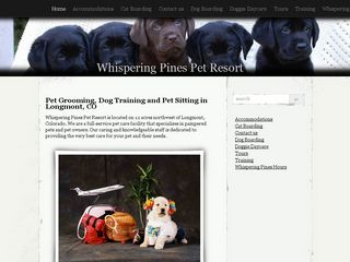 Whispering Pines Pet Resort Longmont
