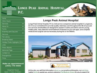 Longs Peak Animal Hospital | Boarding