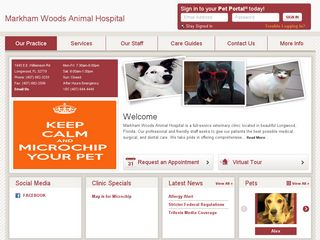 Markham Woods Animal Hospital Longwood