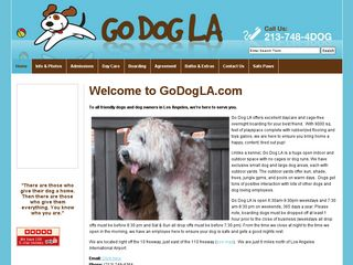 Go Dog LA | Boarding