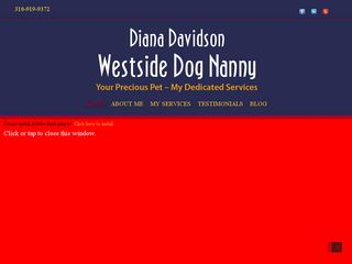 Westside Dog Nanny Los Angeles