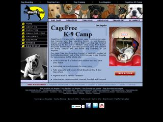 Cagefree K9 Camp Los Angeles