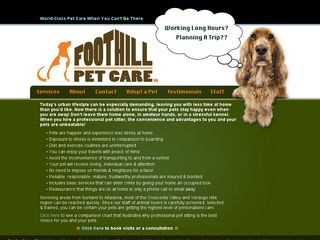 Foothill Pet Care | Boarding