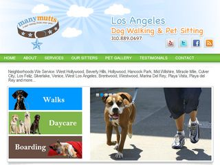 Manymutts Pet Care Los Angeles