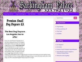 Barkingham Palace | Boarding