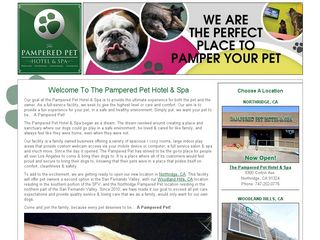 The Pampered Pet Hotel  Spa Los Angeles