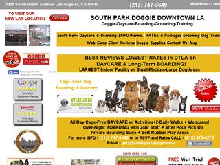 South Park Doggie Daycare Los Angeles