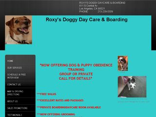 Roxys Doggy Day Care Los Angeles