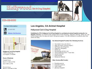 Hollywood Cat   Dog Hospital Los Angeles