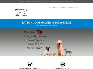 Downtown Pet Lovers Los Angeles