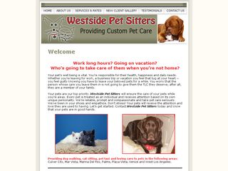Westside Pet Sitters Los Angeles