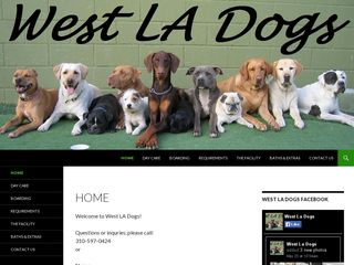West LA Dogs Los Angeles
