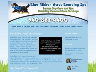 Blue Ribbon Acres | Boarding