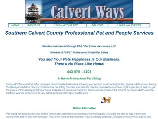 Calvert Ways Pet Sitting Lusby