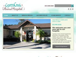 Cypress Creek Animal Hospital Lutz