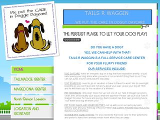 Tails R Waggin | Boarding