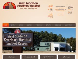 West Madison Veterinary Hospital and Pet Resort Madison