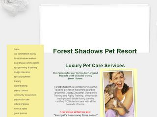 Forest Shadows Pet Resort Magnolia