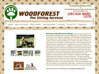 WoodForest Pet Sitting Services Magnolia