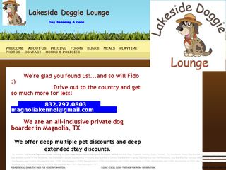 Lakeside Doggie Lounge Magnolia