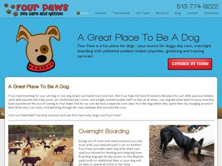 Four Paws Pet Care and Kennel Maineville