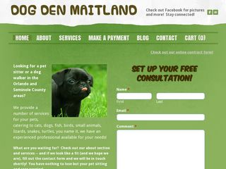 Dog Den of Maitland Maitland