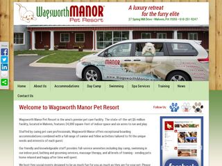 Wagsworth Manor Pet Resort Malvern