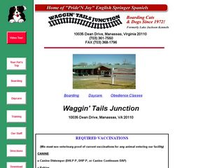 Waggin Tails Junction | Boarding