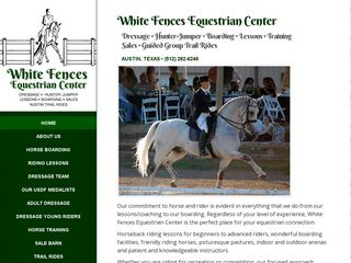 White Fences Equestrian Center | Boarding