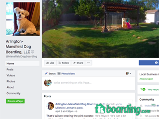 Arlington-Mansfield Dog Boarding, LLC Mansfield
