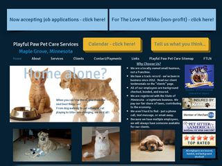 Playful Paw Pet Care Services Maple Grove