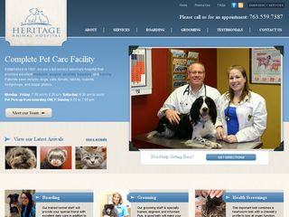 Heritage Animal Hospital | Boarding