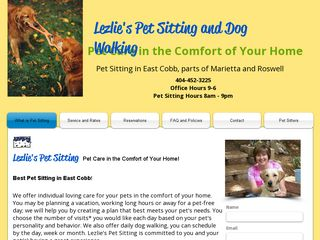 Lezlies Pet Sitting Marietta