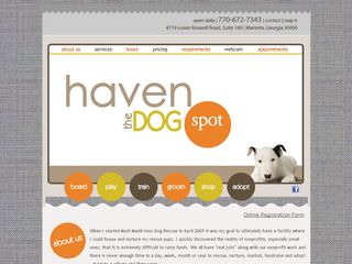 Haven the Dog Spot | Boarding