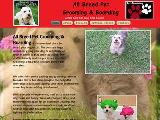 All Breed Grooming Pet Services | Boarding