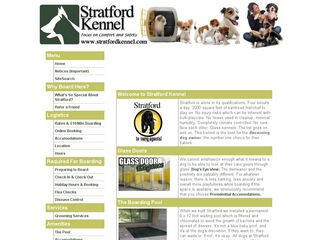 Stratford Kennel | Boarding
