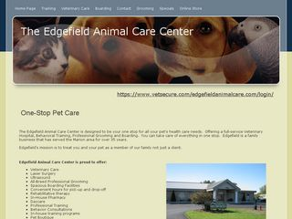 Edgefield Animal Care Center | Boarding