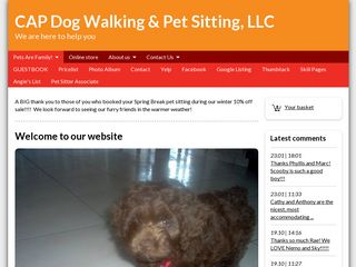 CAP Dog Walking  Pet Sitting LLC | Boarding