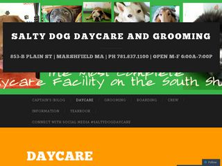 Salty Dog Doggy Day Care Marshfield