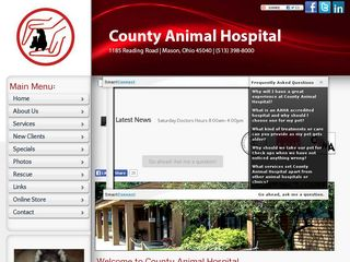 County Animal Hospital | Boarding