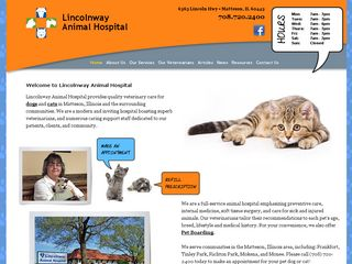 Lincolnway Animal Hospital | Boarding