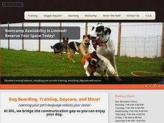 DSL   Dog as a Second Language | Boarding