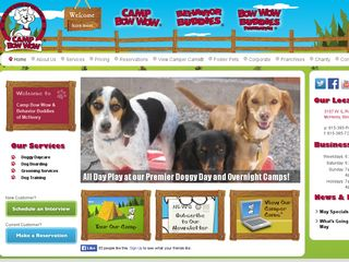 Camp Bow Wow Dog Boarding McHenry | Boarding