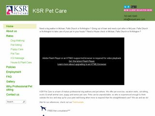 KSR Pet Care | Boarding
