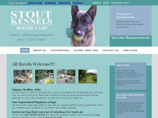 Stout Kennels | Boarding