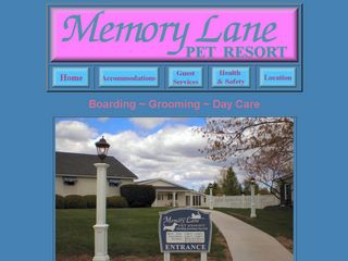 Memory Lane Pet Resort Medina