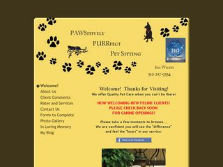 Pawsitively Pawfect Petsitting | Boarding