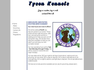 Photo of Tyson Kennels in Menlo Park